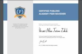 Assistant Lecturer Idrees Alaa Zahid has a peer reviewer certification from Publons